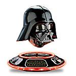 STAR WARS Power Of The Dark Side Levitating Darth Vader Helmet Sculpture