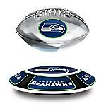 Seattle Seahawks NFL Illuminated Levitating Football