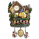 Disney Snow White Hidden Treasure Illuminated Cuckoo Clock