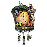 Disney The Lion King Hakuna Matata Day-To-Night Sculptural Wall Clock
