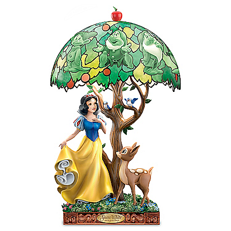 Disney Snow White Fairest Of Them All Sculpted Accent Lamp