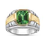 Force Of Nature Men???s Helenite Ring