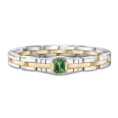 Force Of Nature Men's Helenite Bracelet
