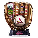 St. Louis Cardinals MLB Cold-Cast Bronze Commemorative Glove Sculpture