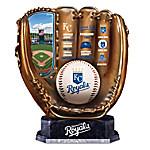 Kansas City Royals MLB Cold-Cast Bronze Commemorative Glove Sculpture