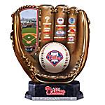 Philadelphia Phillies MLB Cold-Cast Bronze Commemorative Glove Sculpture