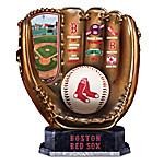 Boston Red Sox MLB Cold-Cast Bronze Commemorative Glove Sculpture