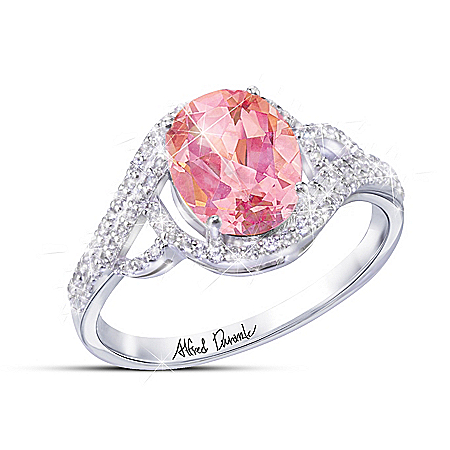 Alfred Durante Radiant Sunrise Women's Mystic Topaz Ring