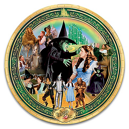 THE WIZARD OF OZ Masterpiece Heirloom Porcelain Collector Plate