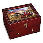 The Farmall - Family Tradition Custom-Crafted Wooden Keepsake Box