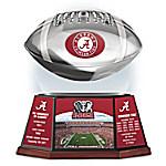 University Of Alabama Crimson Tide Illuminated Levitating Football Sculpture