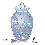 Loving Wishes For My Daughter Heirloom Porcelain Musical Wish Jar
