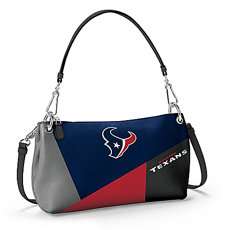 Houston Texans Women's NFL Convertible Handbag