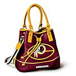 Washington Redskins Women's NFL Bucket-Style Handbag