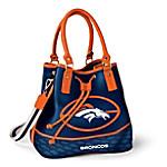 Denver Broncos Women's NFL Bucket-Style Handbag