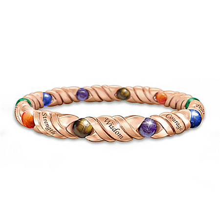 Healing Wishes Bracelet With Precious Stones