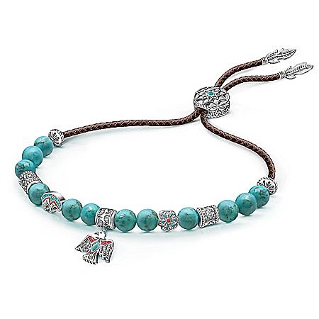 Sacred Spirit Women's Turquoise Bolo Bracelet