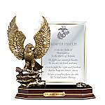 Marine Honor Personalized Eagle Sculpture