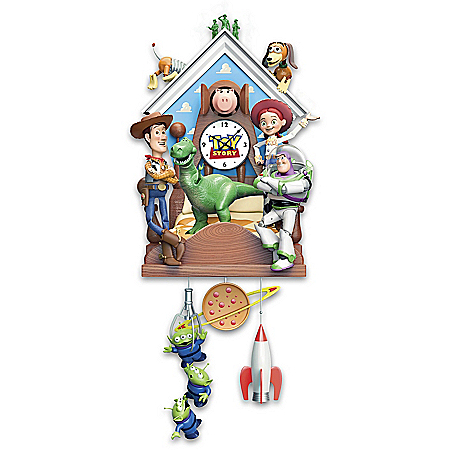 Photo of Disney·Pixar Toy Story Sculptural Cuckoo Clock by The Bradford Exchange Online