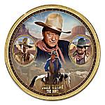 John Wayne - The Duke Heirloom Porcelain Collector Plate