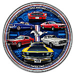 Ford Mustang Masterpiece Edition Heirloom Porcelain Collector Plate