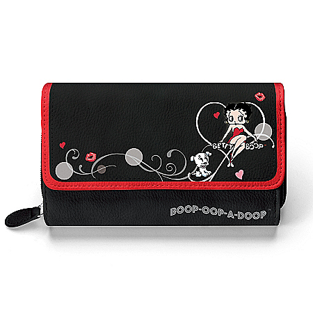 Betty Boop Women's Tri-Fold Wallet