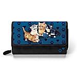 Jurgen Scholz Kitty-Kat Cute Women's Tri-Fold Wallet