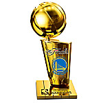Golden State Warriors 2017 NBA Finals Champions Trophy Sculpture