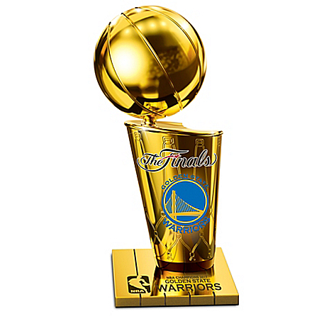 Golden State Warriors 2017 NBA Finals Champions Trophy Sculpture
