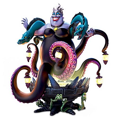 Disney Ursula's Poor Unfortunate Souls Illuminated Sculpture
