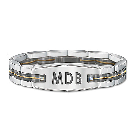 My Son, My Pride, My Joy Personalized Men's Stainless Steel Bracelet – Personalized Jewelry