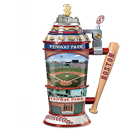 Photo of Boston Red Sox Home-Field Advantage MLB Sculpted Stein by The Bradford Exchange Online