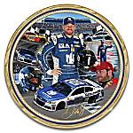 Dale Earnhardt Jr. NASCAR Heirloom Porcelain Collector Plate