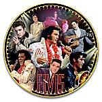 Elvis Presley 40th Anniversary Heirloom Porcelain Commemorative Collector Plate