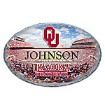 University Of Oklahoma Personalized Outdoor Welcome Sign