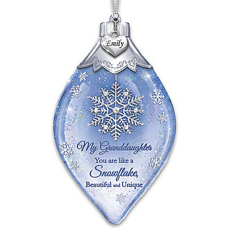 Special As A Snowflake Personalized Ornament – Personalized Jewelry