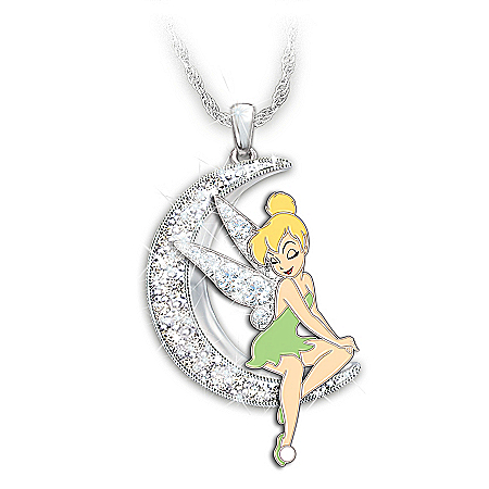 Disney Dream, Wish, Believe Swarovski Crystal Necklace