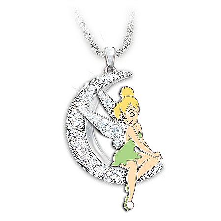 Disney Dream, Wish, Believe Swarovski Crystal Necklace