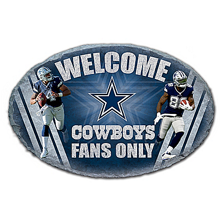 Dallas Cowboys NFL Outdoor Welcome Sign