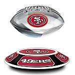 San Francisco 49ers Illuminated Levitating NFL Football