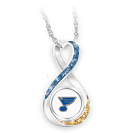 Blues® 2019 Stanley Cup® Infinity Necklace