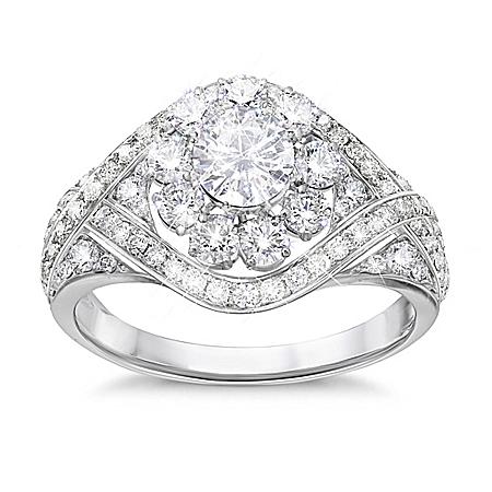 Royal American Rose Diamonesk Ring