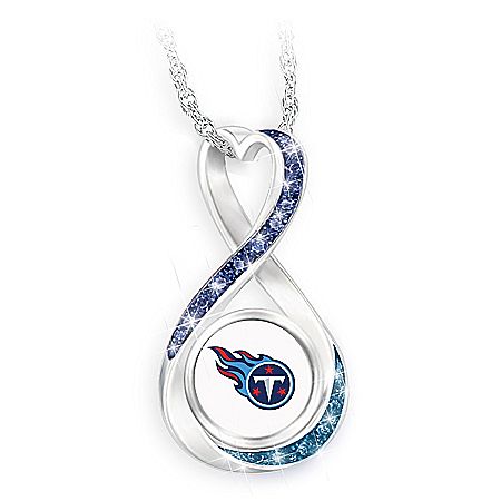 Tennessee Titans Forever Infinity Pendant Necklace