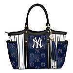 Home Run New York Yankees! Women's MLB Shoulder Tote Bag
