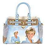 Princess Diana Princess Of Hearts Women's Fashion Handbag
