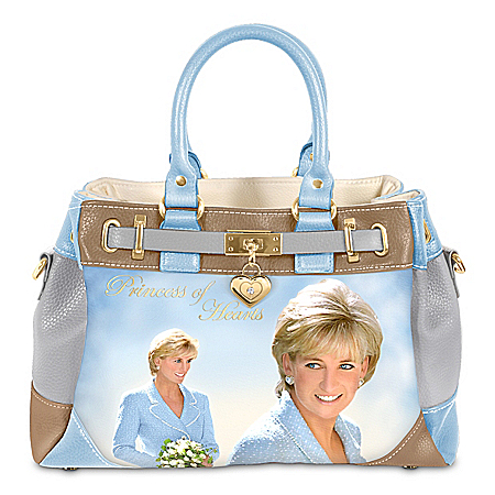 Princess Diana Princess Of Hearts Women's Fashion Handbag