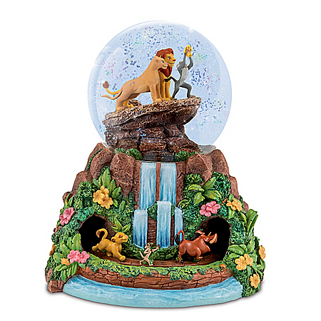 Disney The Lion King Musical Glitter Globe