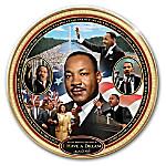 I Have A Dream - Rev. Dr. Martin Luther King Jr. Heirloom Porcelain Collector Plate