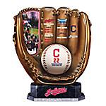 Cleveland Indians MLB Cold-Cast Bronze Glove Sculpture