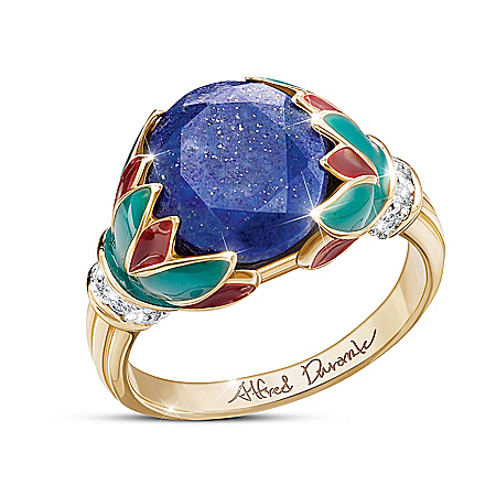 Alfred Durante Treasures Of The Nile Lapis Lazuli Ring